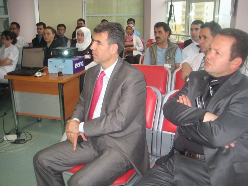 Hastanemiz Personellerine İş Sağlığı ve Güvenliği Eğitimi Verildi