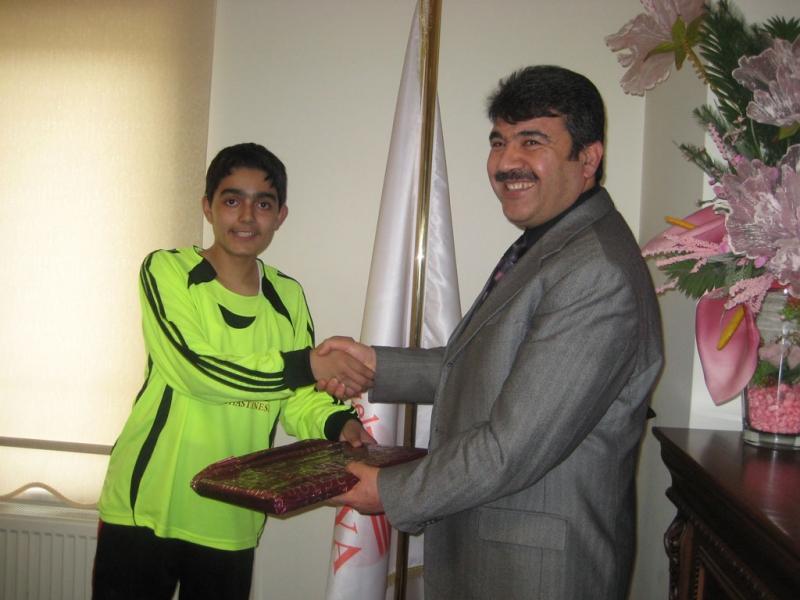 Rauf Nail Akman İlköğretim Okulundan Teşekkür Ziyareti