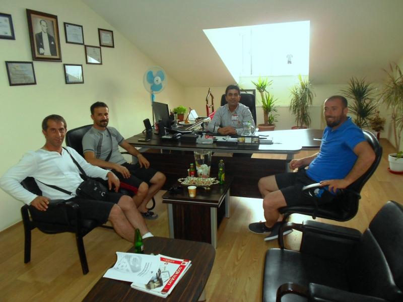 Belediye Vanspor'dan Müdürümüze Ziyaret
