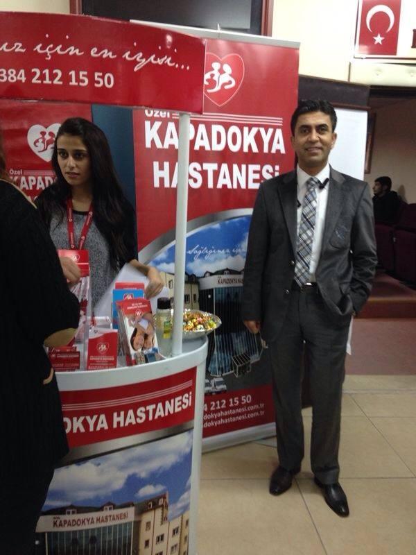 Hastanemiz Nevşehir Kariyer Fuarı' nda
