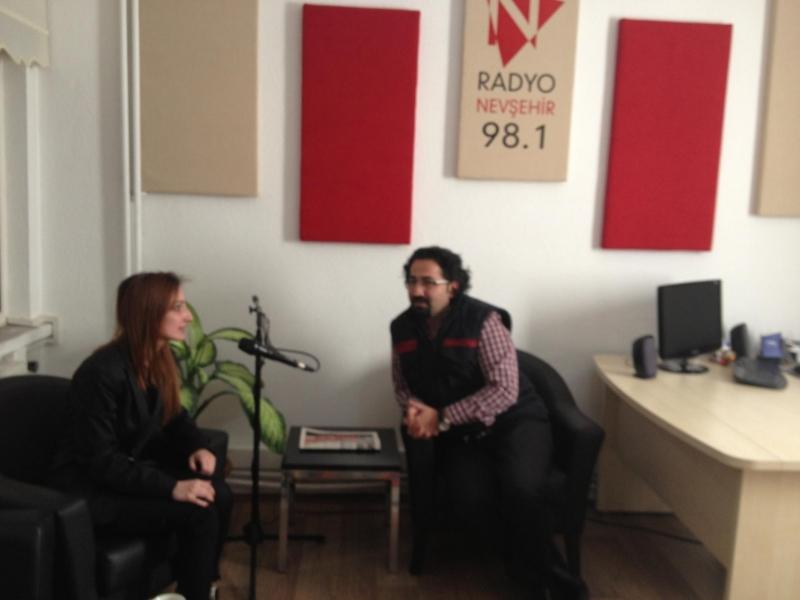 Psikologumuz Buse Baytın Radyo Nevşehir'e Konuk Oldu
