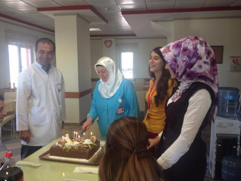 Personellerimizin Doğum Gününü Kutladık