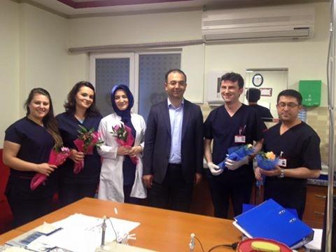 Hastanemiz Başhekimi Dr.Fatih YAKUT 'un 28 Nisan Laboratuvar Teknisyenleri ve Teknikerlerini Günü Kutlaması