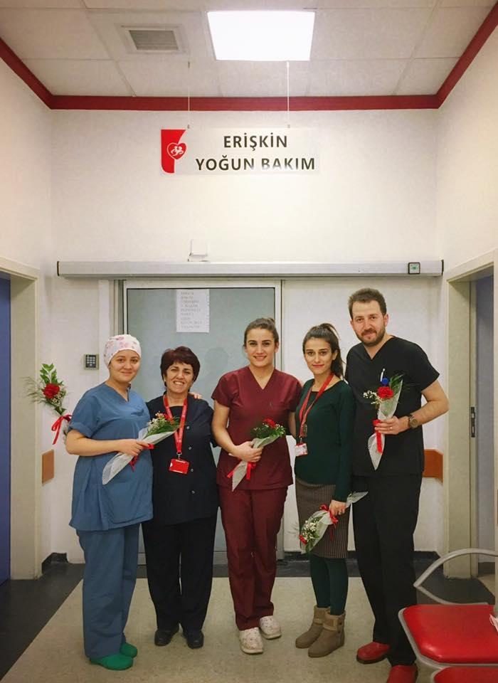 Hastane yönetimi olarak anestezi teknisyeni ve teknikerleri gününü kutladık