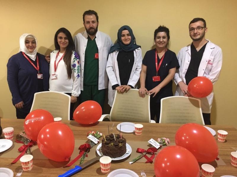 Hastane Yönetimi olarak 16 Ekim Dünya Anestezi Gününü Kutladık