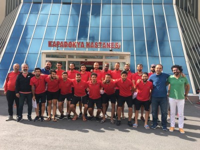 Kapadokya Hastanesi Olarak Göremespor'a Sağlık Sponsoru olduk
