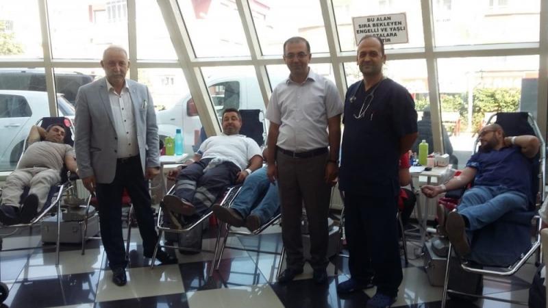 Hastanemizden Kızılay Kan Bağış Kampanyasına Tam Destek