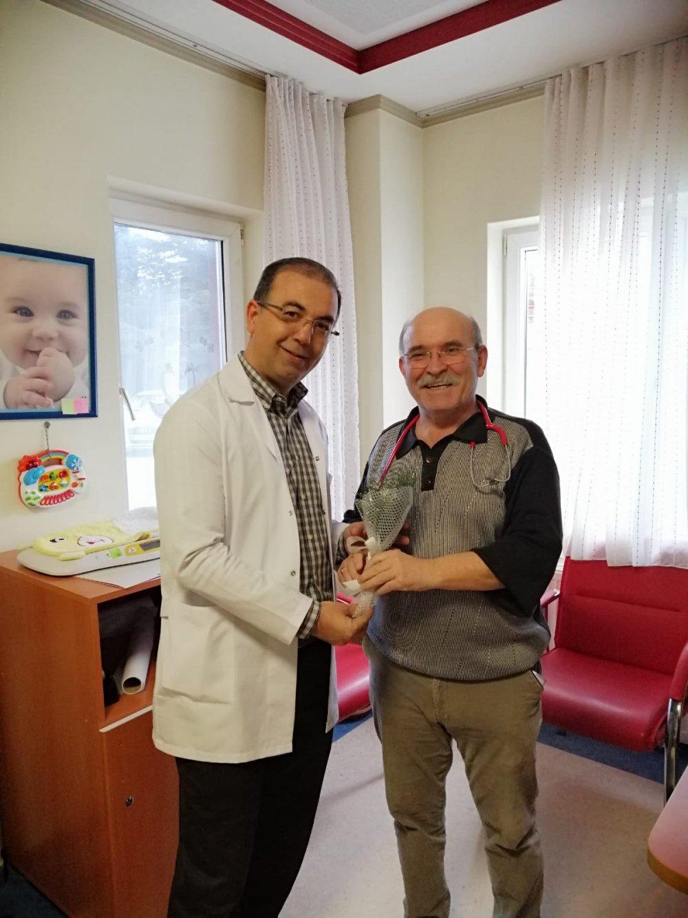 Hastanemiz Başhekimi Op.Dr.Fatih YAKUT tarafından 14 Mart Tıp Bayramı Kutlandı.