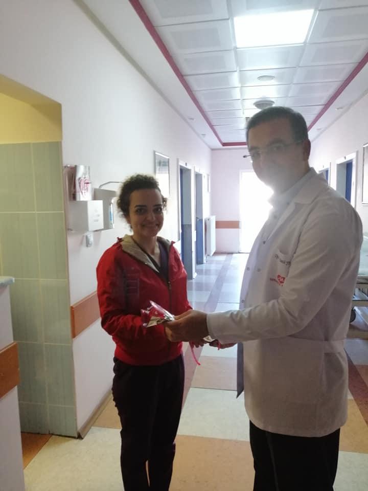 Hastane yönetimi olarak personellerimizin Hemşireler Gününü kutladık.
