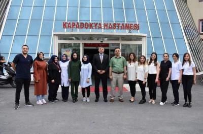 Nevşehir İŞKUR İl Müdürü Arif Sıddık BARATA'dan Hastanemize Ziyaret