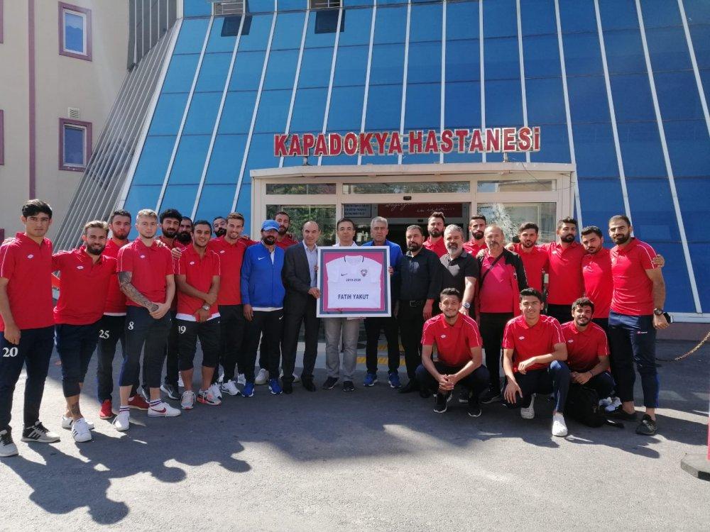 Kapadokya Hastanesi K. Göremespor'a Sağlık Sponsoru oldu .