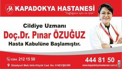 Dermatoloji (CİLDİYE) Uzmanı Doç.Dr.Pınar ÖZUĞUZ hasta kabulüne başlamıştır.